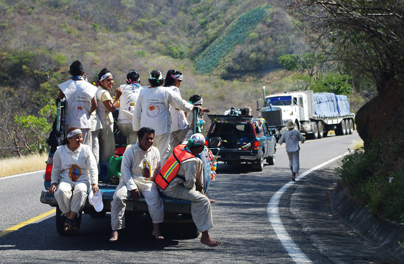 Rahulik minek. Mehhiko, Oaxaca - Puerto Angel vahel.